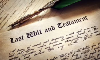 Your Last Will And Testament: Securing And Storing, Part I